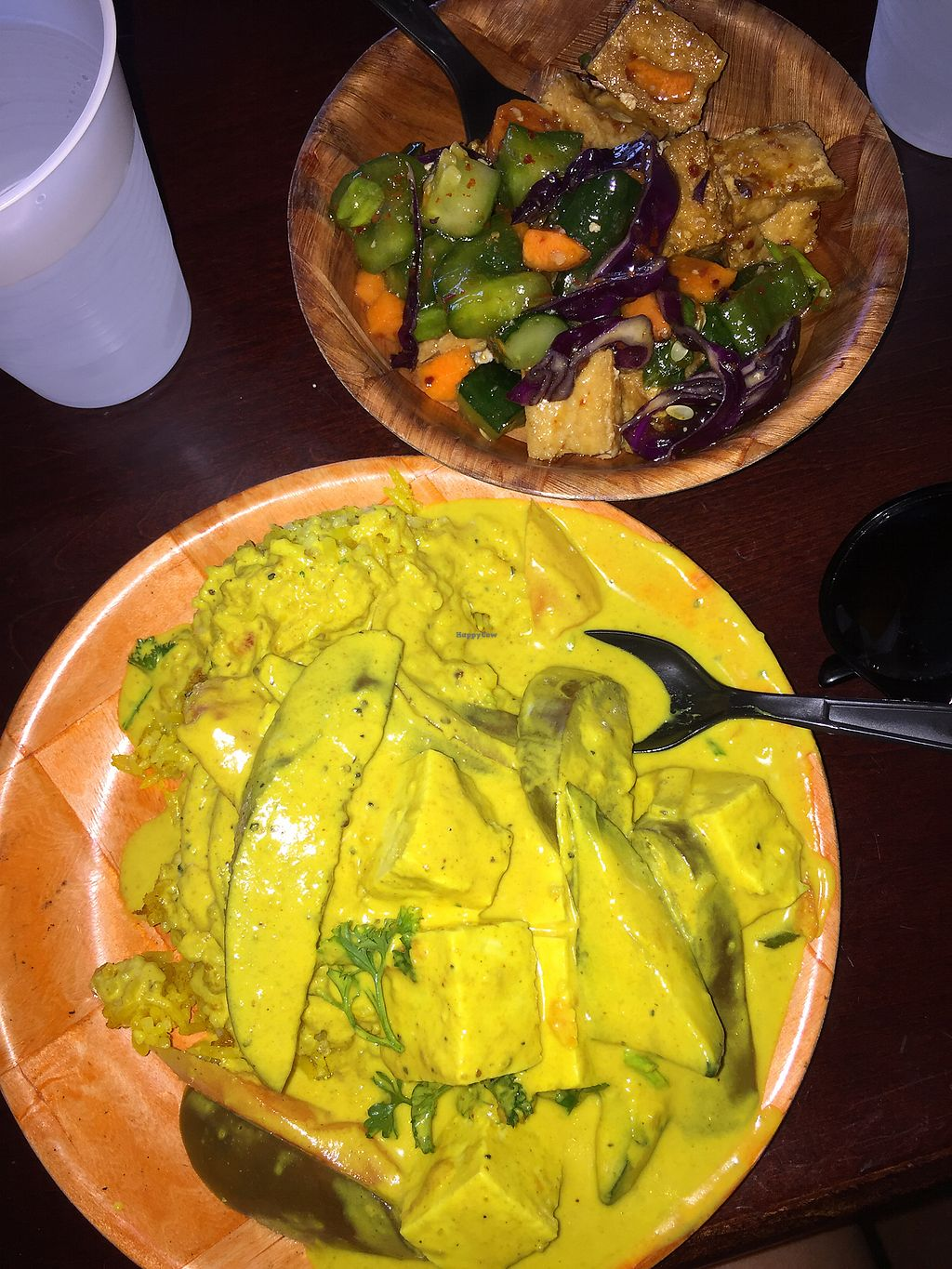 """Photo of Da Spot  by <a href=""""/members/profile/cmlove4"""">cmlove4</a> <br/>The coconut yellow curry was AMAZING  <br/> January 4, 2018  - <a href='/contact/abuse/image/30393/342805'>Report</a>"""