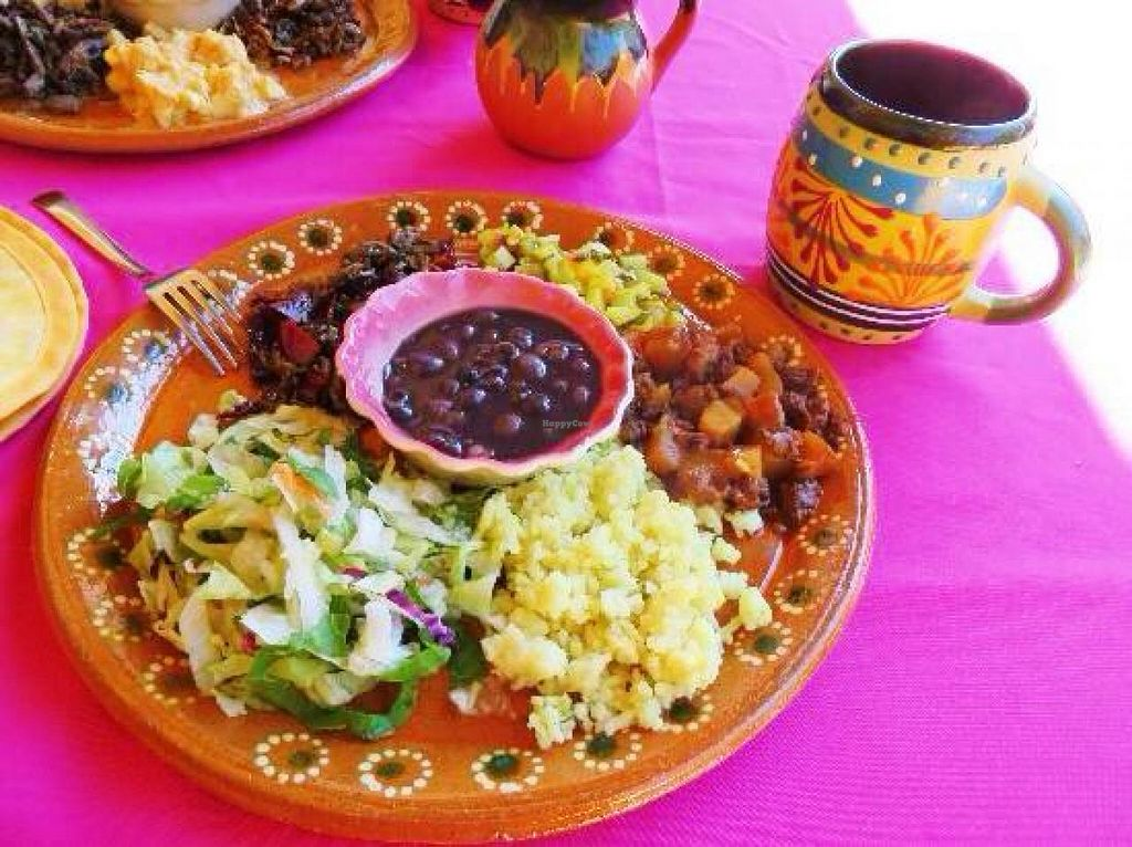 """Photo of Puerto Vegan, Siempre Sano  by <a href=""""/members/profile/BriggitteJ"""">BriggitteJ</a> <br/>$7 lunch, which included soup, juice and a dessert. Very good!  <br/> March 1, 2015  - <a href='/contact/abuse/image/30394/94478'>Report</a>"""