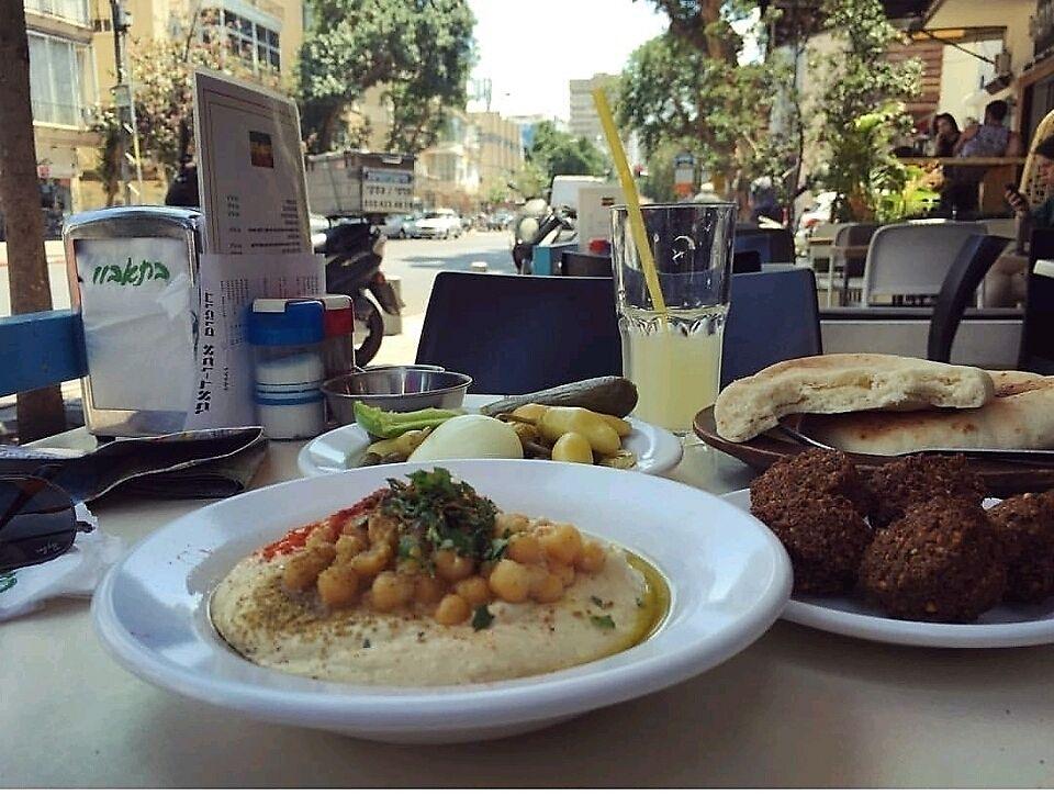 "Photo of Abu Dubi Hummus  by <a href=""/members/profile/AssafVNoam"">AssafVNoam</a> <br/>best hummus around <br/> November 7, 2017  - <a href='/contact/abuse/image/30415/322976'>Report</a>"