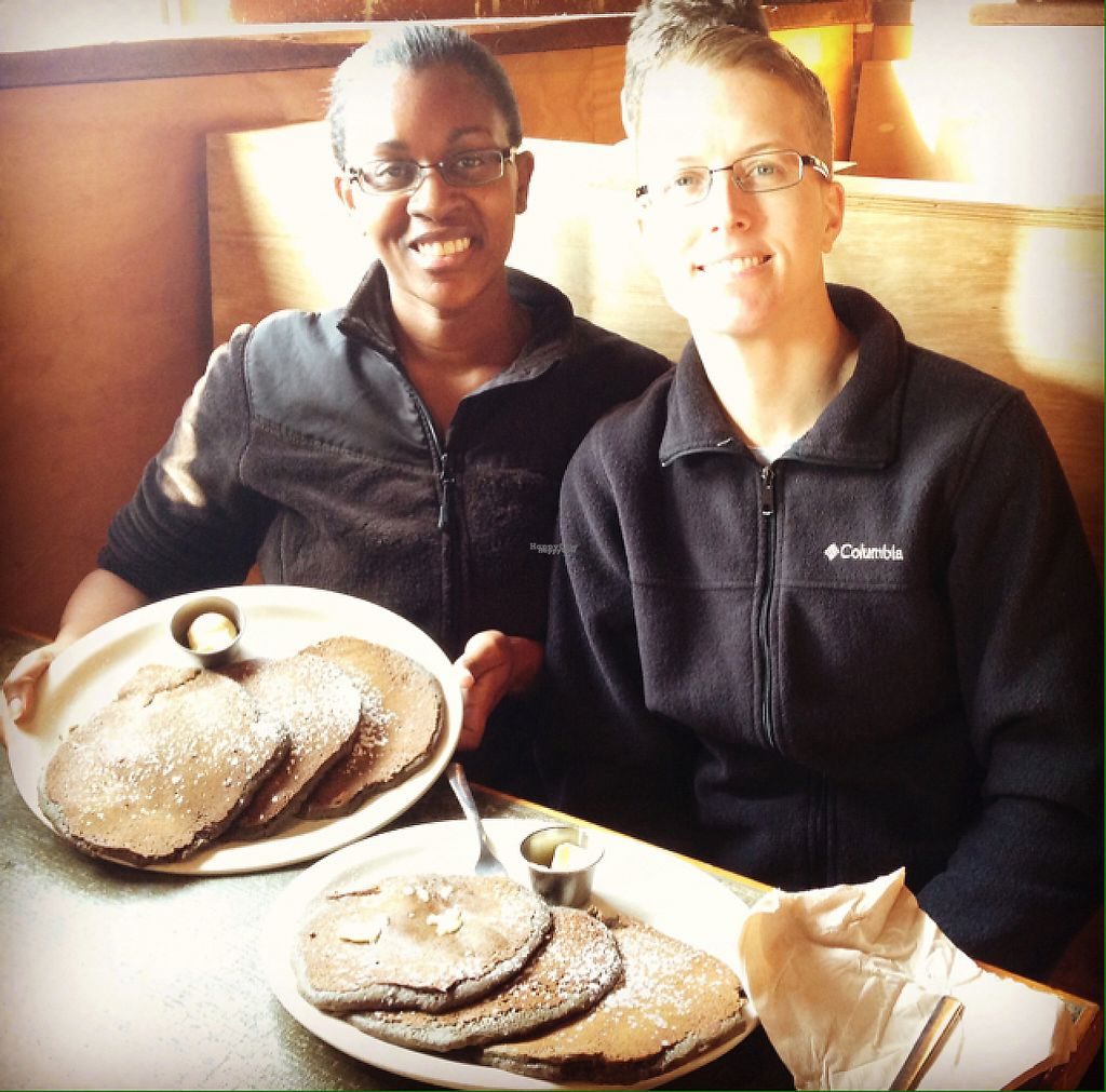 """Photo of Radial Cafe  by <a href=""""/members/profile/calamaestra"""">calamaestra</a> <br/>buckwheat pancakes <br/> March 20, 2017  - <a href='/contact/abuse/image/30436/238860'>Report</a>"""