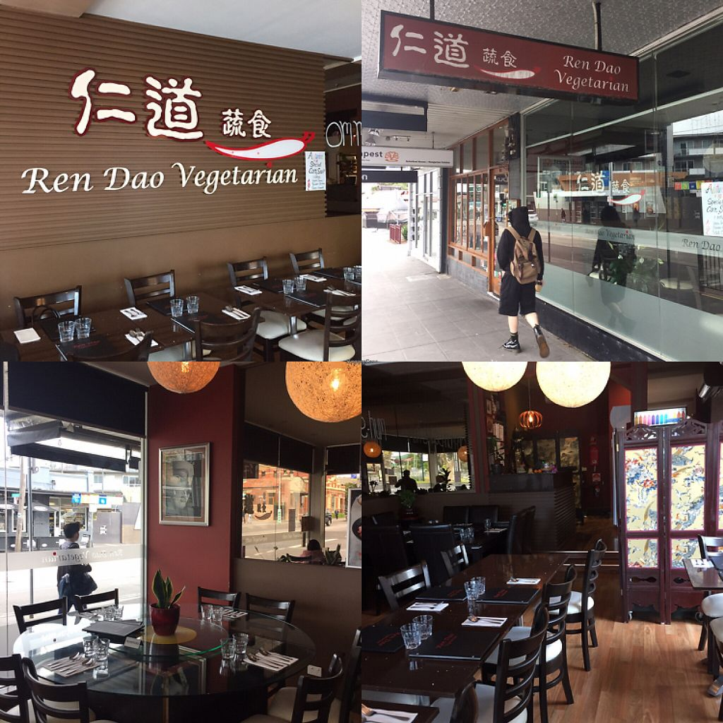 """Photo of Ren Dao Asian Vegetarian  by <a href=""""/members/profile/ChiamLongThiam"""">ChiamLongThiam</a> <br/>Shop outlook & environment  <br/> June 1, 2017  - <a href='/contact/abuse/image/30460/264722'>Report</a>"""