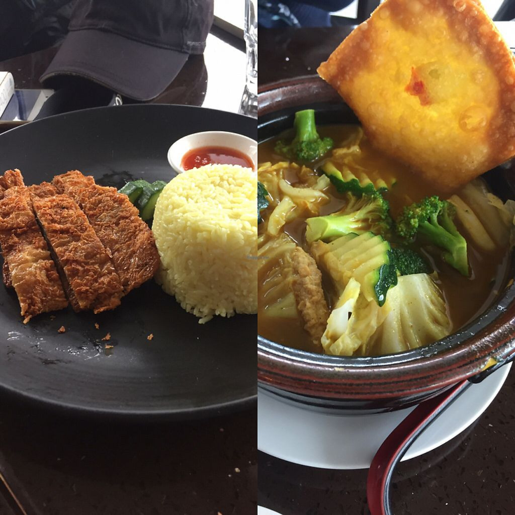 """Photo of Ren Dao Asian Vegetarian  by <a href=""""/members/profile/ChiamLongThiam"""">ChiamLongThiam</a> <br/>Our orders: Rice & Curry Noodles  <br/> June 1, 2017  - <a href='/contact/abuse/image/30460/264723'>Report</a>"""
