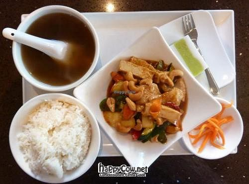 """Photo of Ren Dao Asian Vegetarian  by <a href=""""/members/profile/vegan%20mikal"""">vegan mikal</a> <br/>Ren Dao set meal 2 <br/> July 19, 2012  - <a href='/contact/abuse/image/30460/34681'>Report</a>"""