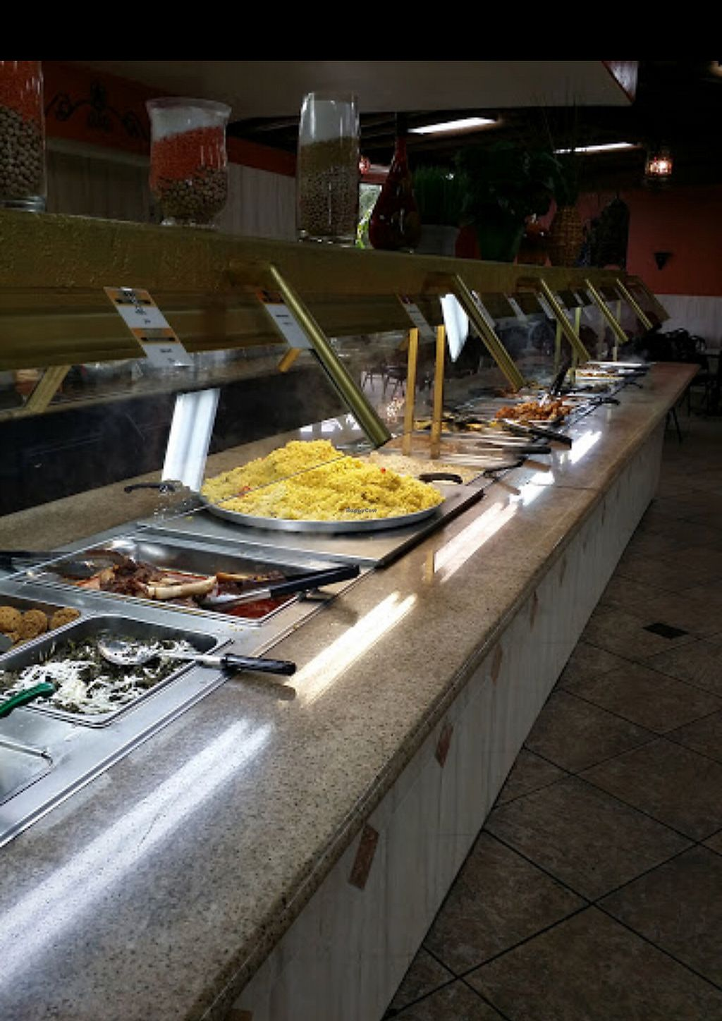 """Photo of Dimassi's Mediterranean Buffet  by <a href=""""/members/profile/ashlinmichelle7"""">ashlinmichelle7</a> <br/>Buffet line <br/> April 15, 2018  - <a href='/contact/abuse/image/30476/385972'>Report</a>"""