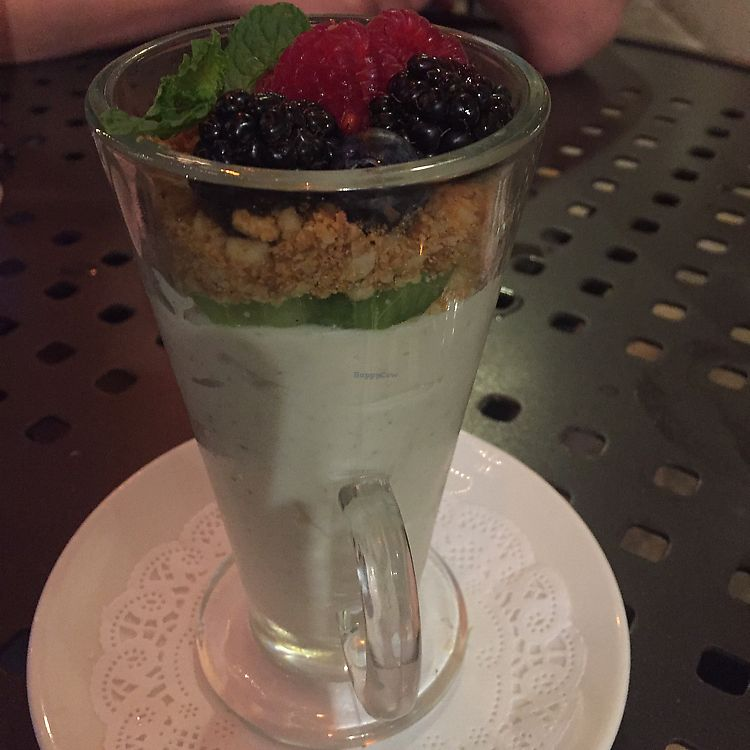 """Photo of Roy's  by <a href=""""/members/profile/VeggieHeather"""">VeggieHeather</a> <br/>key lime pie parfait  <br/> June 20, 2017  - <a href='/contact/abuse/image/30515/271259'>Report</a>"""