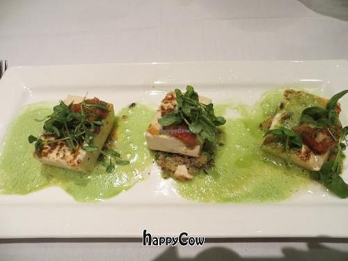 """Photo of Roy's  by <a href=""""/members/profile/Poppycat"""">Poppycat</a> <br/>Tofu steak with quinoa <br/> April 26, 2013  - <a href='/contact/abuse/image/30515/47378'>Report</a>"""