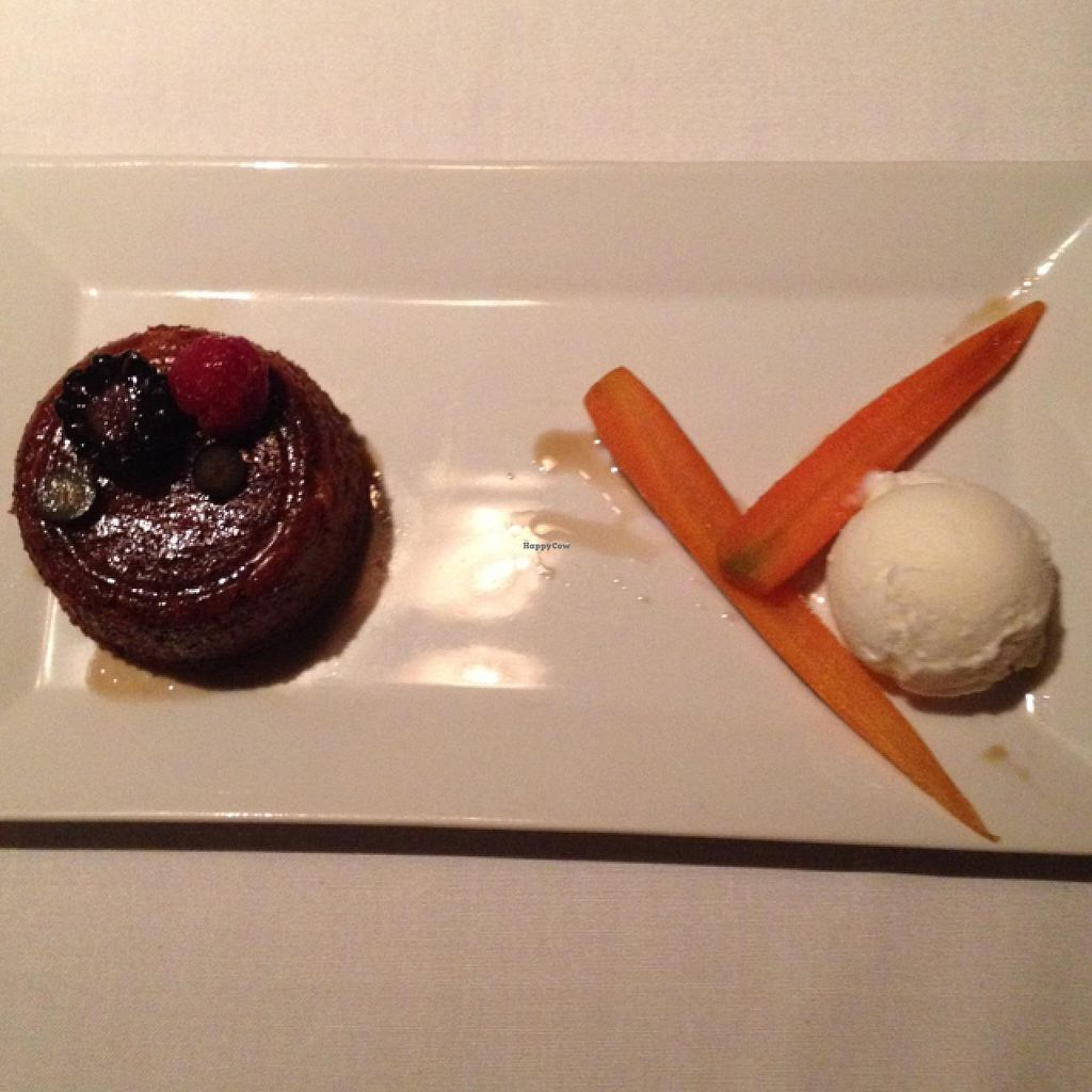"""Photo of Roy's  by <a href=""""/members/profile/Kaylaveggin"""">Kaylaveggin</a> <br/>carrot spice cake and sorbet <br/> February 2, 2015  - <a href='/contact/abuse/image/30515/92095'>Report</a>"""