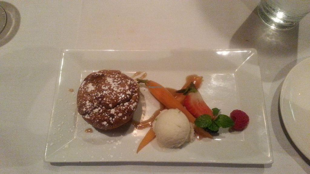 """Photo of Roy's  by <a href=""""/members/profile/slithers"""">slithers</a> <br/>Carrot cake w/ vegan honey glaze & sorbet (VPF 4 of 4) <br/> March 23, 2015  - <a href='/contact/abuse/image/30515/96773'>Report</a>"""