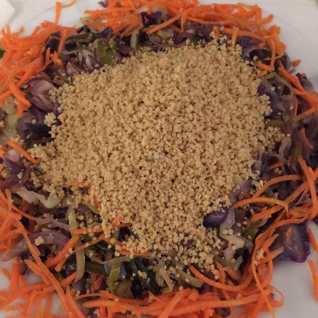 """Photo of Almuzara  by <a href=""""/members/profile/Luciafmtri"""">Luciafmtri</a> <br/>couscous with veggies <br/> March 21, 2015  - <a href='/contact/abuse/image/30532/96396'>Report</a>"""