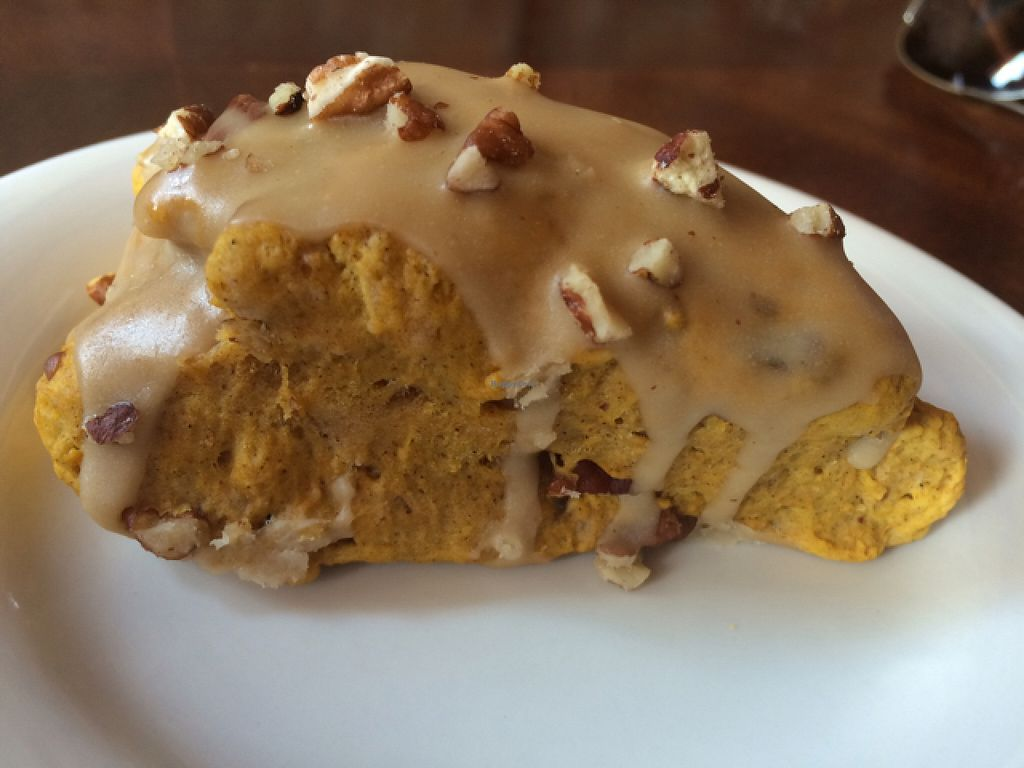 "Photo of Cafe Hey  by <a href=""/members/profile/kmilitello"">kmilitello</a> <br/>vegan pumpkin maple scone <br/> September 6, 2015  - <a href='/contact/abuse/image/30542/116583'>Report</a>"
