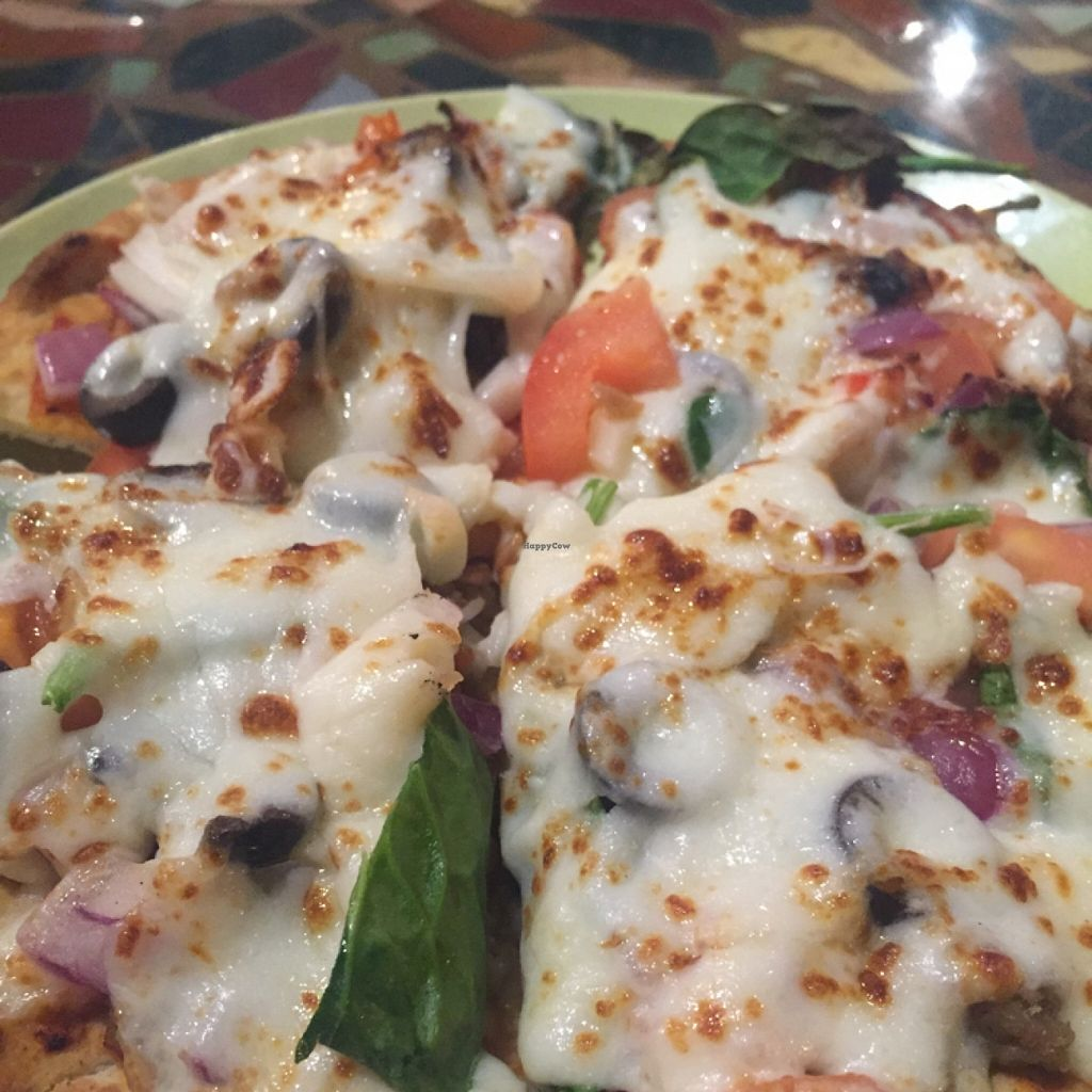 "Photo of CLOSED: Downtown Central Perk  by <a href=""/members/profile/happycowgirl"">happycowgirl</a> <br/>flat bread pizzas <br/> January 23, 2016  - <a href='/contact/abuse/image/30543/133422'>Report</a>"
