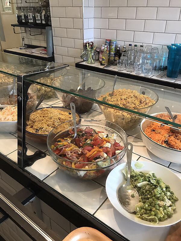 """Photo of The Greenhouse Cafe  by <a href=""""/members/profile/VictoriaReeves"""">VictoriaReeves</a> <br/>Greenhouse salads  <br/> November 28, 2017  - <a href='/contact/abuse/image/30575/329965'>Report</a>"""