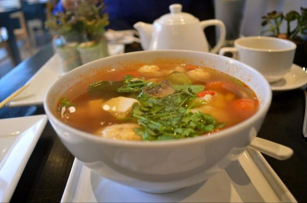 """Photo of VeStation Urban Organic Kitchen  by <a href=""""/members/profile/AlessandraTaryn"""">AlessandraTaryn</a> <br/>Lemongrass Soup <br/> November 7, 2014  - <a href='/contact/abuse/image/30585/84927'>Report</a>"""