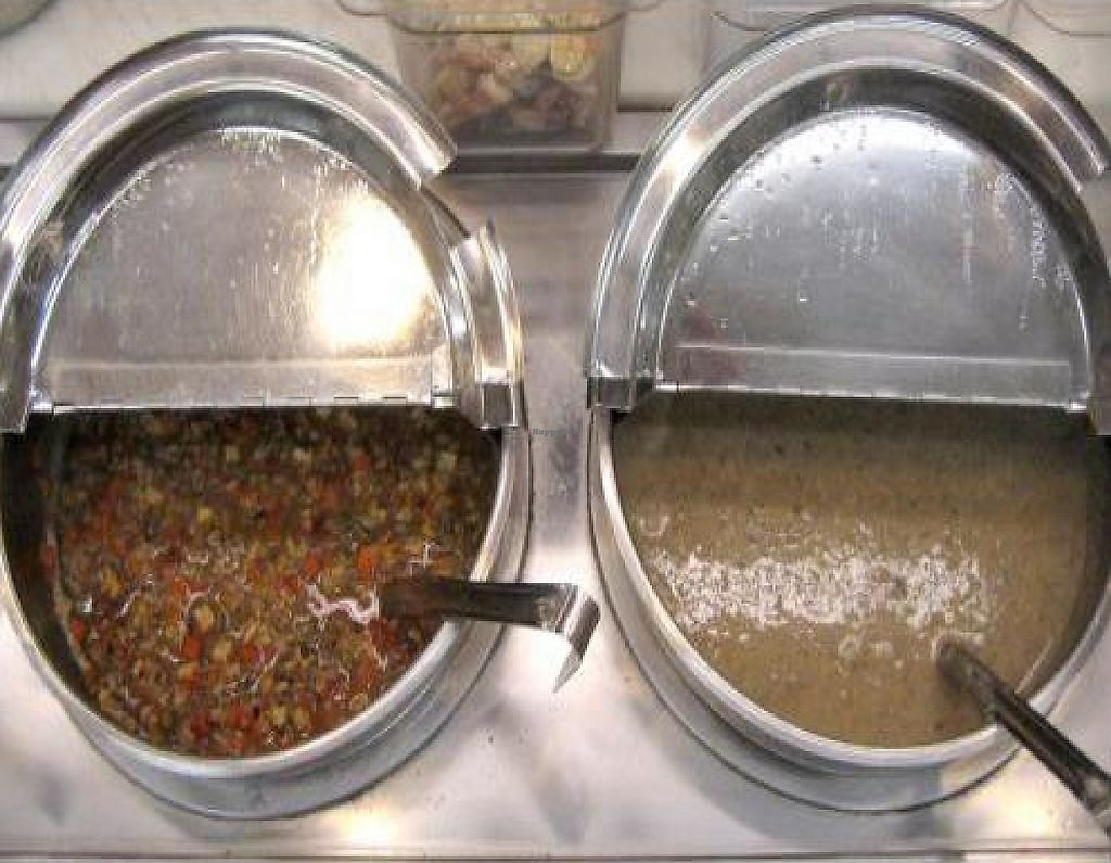"Photo of Sunflower Cafe  by <a href=""/members/profile/krisl"">krisl</a> <br/>Fresh vegan soups made with organic ingredients. Many options are also gluten free <br/> February 16, 2012  - <a href='/contact/abuse/image/30615/223151'>Report</a>"