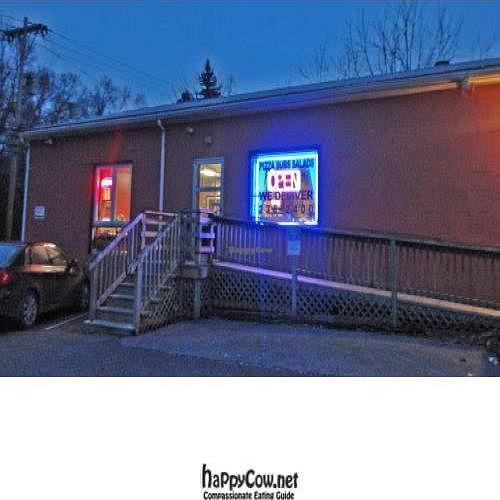 """Photo of CLOSED: Aardvark Kafe  by <a href=""""/members/profile/PennsyltuckyVeggie"""">PennsyltuckyVeggie</a> <br/>Aardvark Kafe at twilight <br/> February 16, 2012  - <a href='/contact/abuse/image/30624/28458'>Report</a>"""