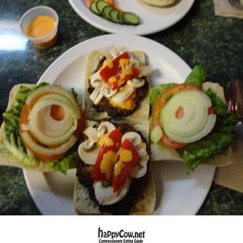 "Photo of CLOSED: Aardvark Kafe  by <a href=""/members/profile/PennsyltuckyVeggie"">PennsyltuckyVeggie</a> <br/>Vegan Crab Cake Sandwiches <br/> February 16, 2012  - <a href='/contact/abuse/image/30624/28461'>Report</a>"