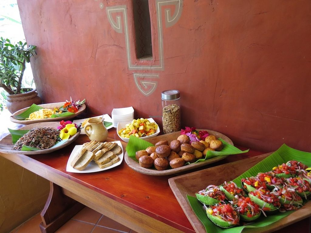 """Photo of Rio Chirripo Yoga Retreat  by <a href=""""/members/profile/Oriana"""">Oriana</a> <br/>Breakfast buffet at Rio Chirripo Lodge <br/> September 3, 2015  - <a href='/contact/abuse/image/30627/116239'>Report</a>"""