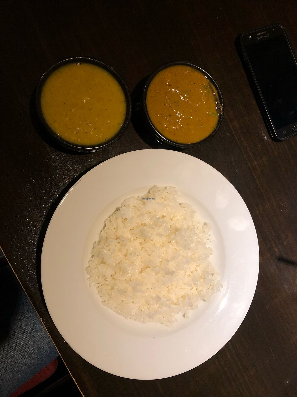 "Photo of Jyoti  by <a href=""/members/profile/Adalim420"">Adalim420</a> <br/>vegan curry and dal curry <br/> November 21, 2017  - <a href='/contact/abuse/image/30636/327713'>Report</a>"