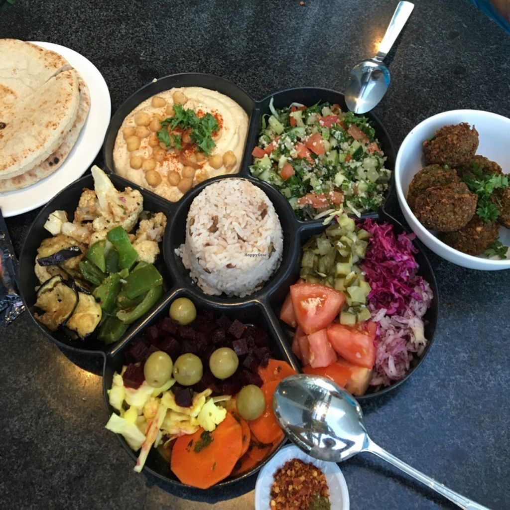 """Photo of CLOSED: Pita Pan  by <a href=""""/members/profile/eve6tan"""">eve6tan</a> <br/>falafel platter <br/> March 12, 2016  - <a href='/contact/abuse/image/30649/139670'>Report</a>"""