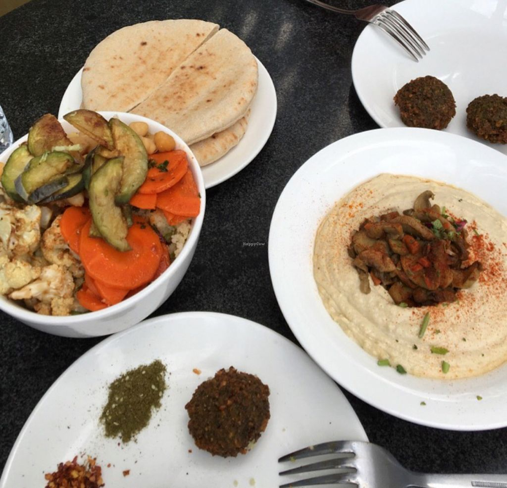 """Photo of CLOSED: Pita Pan  by <a href=""""/members/profile/eve6tan"""">eve6tan</a> <br/>mushroom hummus <br/> March 26, 2016  - <a href='/contact/abuse/image/30649/141453'>Report</a>"""