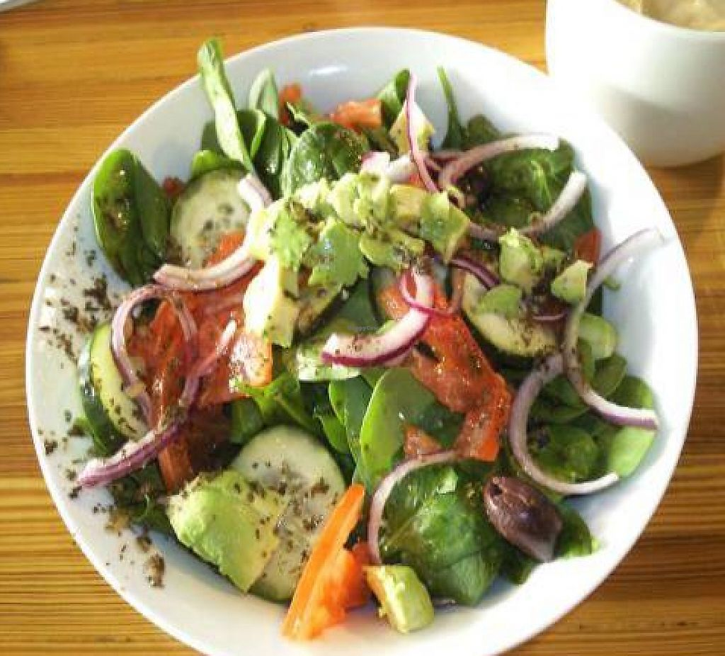 """Photo of Brew  by <a href=""""/members/profile/happycowgirl"""">happycowgirl</a> <br/>Poseidon Salad (with no feta, add avocado) <br/> February 20, 2012  - <a href='/contact/abuse/image/30678/204820'>Report</a>"""