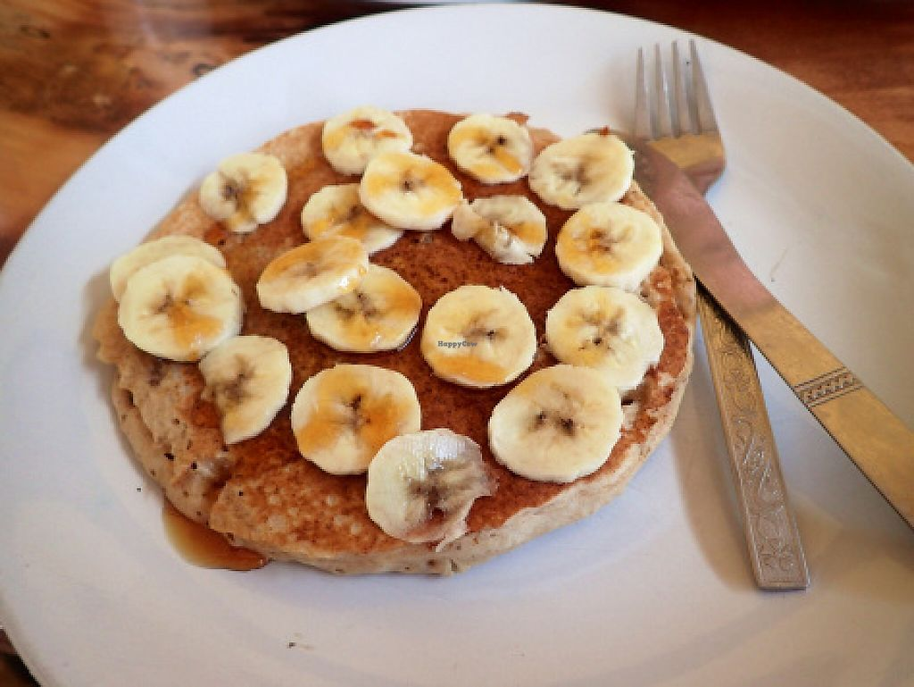 """Photo of Millets of Mewar  by <a href=""""/members/profile/TrudiH"""">TrudiH</a> <br/>Vegan millet banana pancake <br/> June 20, 2016  - <a href='/contact/abuse/image/30697/187662'>Report</a>"""