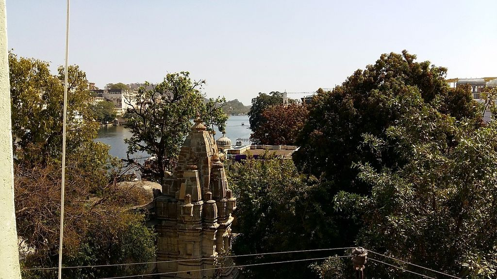 """Photo of Millets of Mewar  by <a href=""""/members/profile/Gudrun"""">Gudrun</a> <br/>View from the upper floor @ Millets of Mewar <br/> May 21, 2017  - <a href='/contact/abuse/image/30697/261003'>Report</a>"""