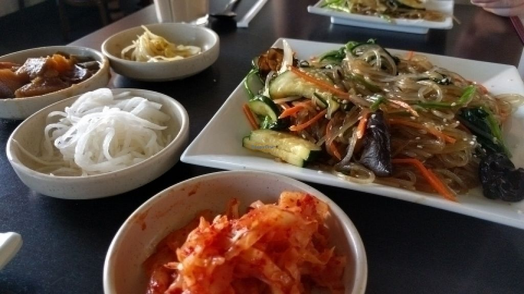 "Photo of Sura Korean BBQ and Tofu  by <a href=""/members/profile/Bgilly"">Bgilly</a> <br/>Japche <br/> July 13, 2016  - <a href='/contact/abuse/image/30699/159486'>Report</a>"