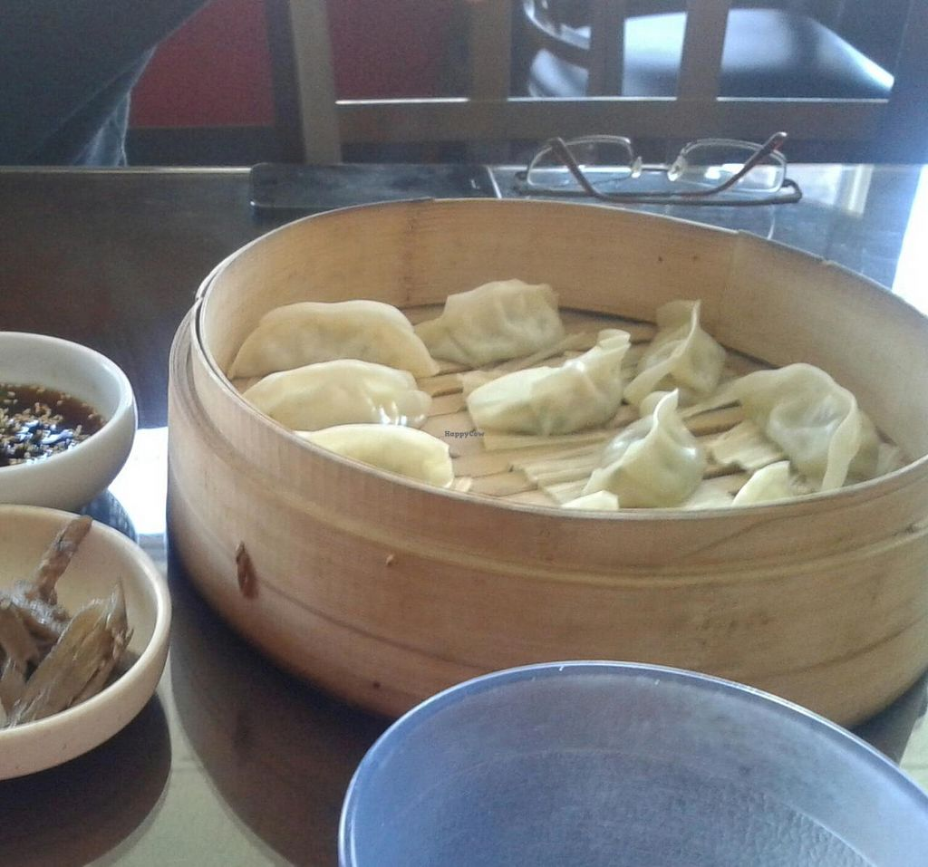 "Photo of Sura Korean BBQ and Tofu  by <a href=""/members/profile/chobesoy"">chobesoy</a> <br/>veggie dumplings <br/> September 26, 2014  - <a href='/contact/abuse/image/30699/81165'>Report</a>"