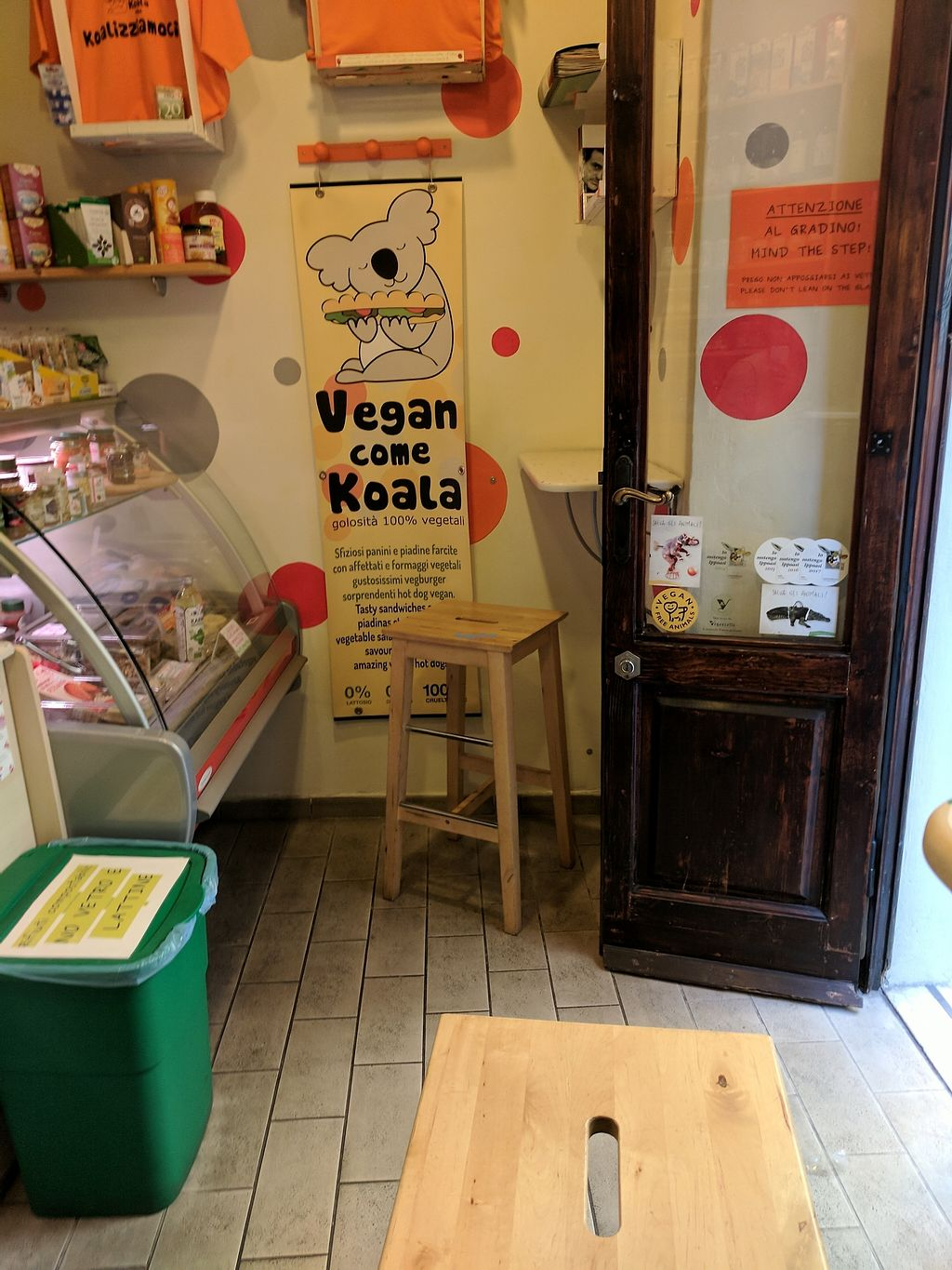"""Photo of Vegan Come Koala  by <a href=""""/members/profile/lmcc"""">lmcc</a> <br/>Interior of shop <br/> December 15, 2017  - <a href='/contact/abuse/image/30709/335940'>Report</a>"""