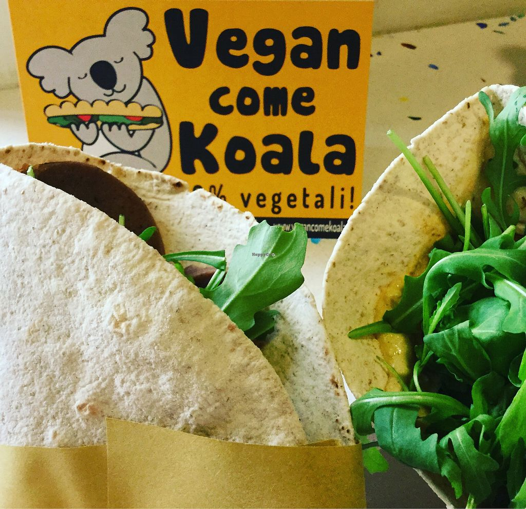 """Photo of Vegan Come Koala  by <a href=""""/members/profile/MirjamHelloVegan"""">MirjamHelloVegan</a> <br/>Delicious Piadina <br/> May 12, 2018  - <a href='/contact/abuse/image/30709/398659'>Report</a>"""