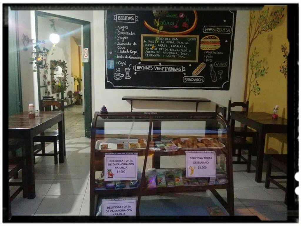 Photo of Delicias al Natural  by JuanDavidMartinezGar <br/>A good place to enjoy a delicious vegetarian lunch ask for other products <br/> June 27, 2016  - <a href='/contact/abuse/image/30746/156480'>Report</a>
