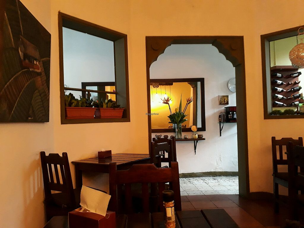 """Photo of Delicias al Natural  by <a href=""""/members/profile/AlexPol"""">AlexPol</a> <br/>it's a calm restaurant with delicious food, one of my favorites of Medellín  <br/> April 24, 2018  - <a href='/contact/abuse/image/30746/390687'>Report</a>"""