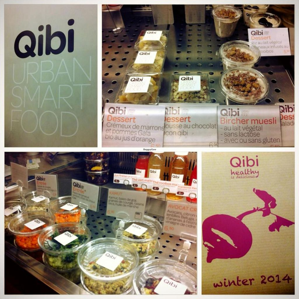 """Photo of Qibi - Bergue  by <a href=""""/members/profile/_Neko_"""">_Neko_</a> <br/>Qibi restaurant in Geneva, with a lot of vegan options <br/> February 17, 2014  - <a href='/contact/abuse/image/30754/64476'>Report</a>"""