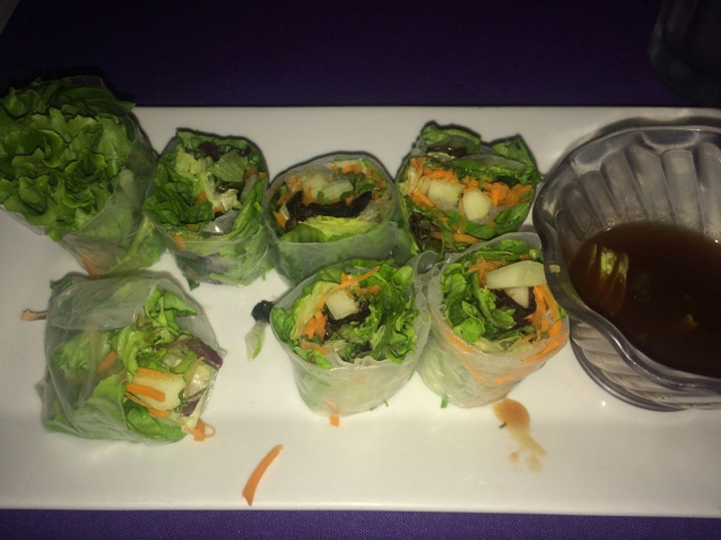 "Photo of Sawadee Thai  by <a href=""/members/profile/VEGGINIQUE"">VEGGINIQUE</a> <br/>Freah Rolls Without The Crab <br/> November 19, 2015  - <a href='/contact/abuse/image/30782/125508'>Report</a>"