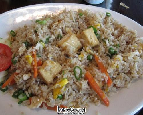 "Photo of Sawadee Thai  by <a href=""/members/profile/Julie%20R"">Julie R</a> <br/>Vegetable fried rice with Tofu (it has egg in it) <br/> February 27, 2012  - <a href='/contact/abuse/image/30782/28973'>Report</a>"