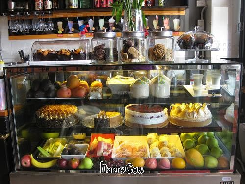 """Photo of Fina's Vegetarian Cafe  by <a href=""""/members/profile/inthemooood"""">inthemooood</a> <br/>mouth watering over-the-top temptations for the sweet tooth, and the fruits for their smoothies and special drinks.  <br/> April 9, 2013  - <a href='/contact/abuse/image/30807/46754'>Report</a>"""