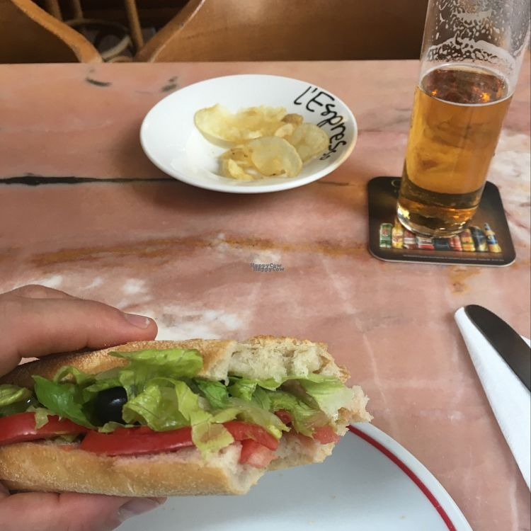 "Photo of L'espresso  by <a href=""/members/profile/JuanBonnin"">JuanBonnin</a> <br/>Vegan Baguette  <br/> October 13, 2016  - <a href='/contact/abuse/image/30808/181825'>Report</a>"