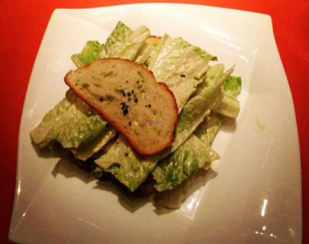 """Photo of Wynn Hotel - Sinatra  by <a href=""""/members/profile/vegetariangirl"""">vegetariangirl</a> <br/>vegan Caesar salad <br/> October 11, 2012  - <a href='/contact/abuse/image/30822/207714'>Report</a>"""