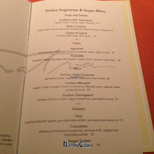 """Photo of Wynn Hotel - Sinatra  by <a href=""""/members/profile/vegetariangirl"""">vegetariangirl</a> <br/>menu <br/> October 11, 2012  - <a href='/contact/abuse/image/30822/38900'>Report</a>"""
