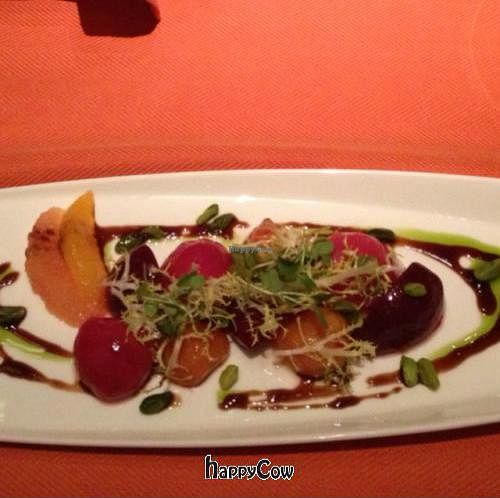 """Photo of Wynn Hotel - Sinatra  by <a href=""""/members/profile/vegetariangirl"""">vegetariangirl</a> <br/>beet salad <br/> October 11, 2012  - <a href='/contact/abuse/image/30822/38902'>Report</a>"""
