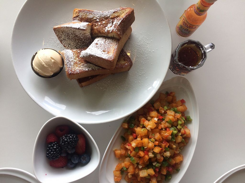 """Photo of Wynn Hotel - Terrace Pointe Cafe  by <a href=""""/members/profile/MitziFox"""">MitziFox</a> <br/>Vegan breakfast <br/> March 5, 2018  - <a href='/contact/abuse/image/30823/366959'>Report</a>"""