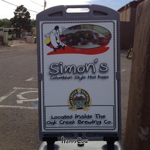 """Photo of CLOSED: Simon's Hot Dogs  by <a href=""""/members/profile/vegetariangirl"""">vegetariangirl</a> <br/>sign  <br/> August 30, 2012  - <a href='/contact/abuse/image/30825/37183'>Report</a>"""