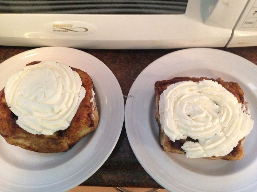 """Photo of The Clever Rabbit  by <a href=""""/members/profile/Mon7que"""">Mon7que</a> <br/>Their heavenly cinnamon buns!!! Ps: try mixing their icing with peanut butter... tastes legit like Reece's Pieces!!!!  <br/> November 29, 2016  - <a href='/contact/abuse/image/30845/195637'>Report</a>"""