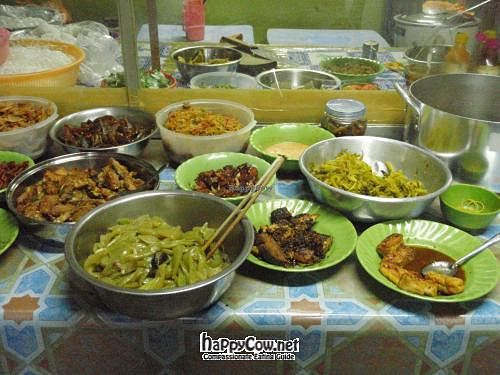 "Photo of Khanh Ly Vegetarian Food  by <a href=""/members/profile/Floatingduck"">Floatingduck</a> <br/>The buffett <br/> March 6, 2012  - <a href='/contact/abuse/image/30846/29174'>Report</a>"