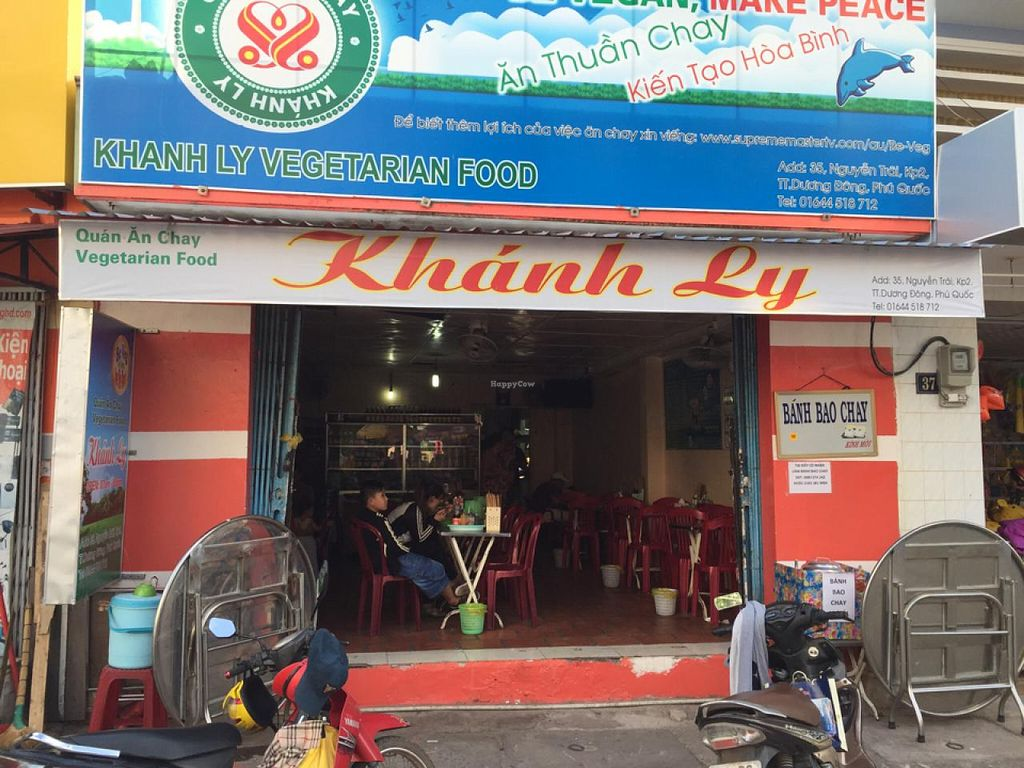 "Photo of Khanh Ly Vegetarian Food  by <a href=""/members/profile/magoz"">magoz</a> <br/>From outside <br/> April 3, 2015  - <a href='/contact/abuse/image/30846/97659'>Report</a>"
