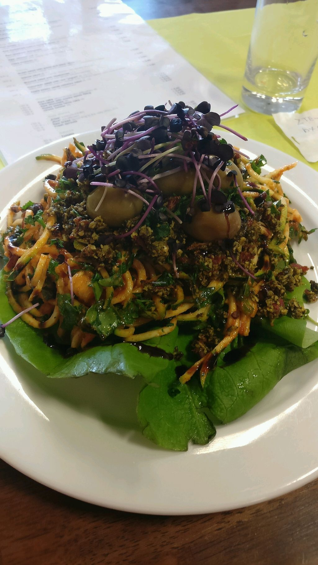 """Photo of Bemba  by <a href=""""/members/profile/Pachamamma"""">Pachamamma</a> <br/>raw spaghetti 6.2 euro <br/> March 24, 2018  - <a href='/contact/abuse/image/30861/375407'>Report</a>"""