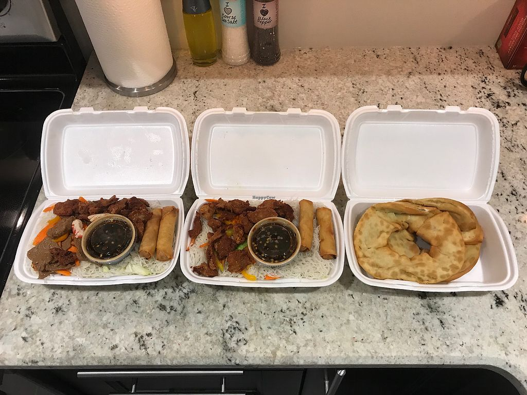 """Photo of Veggie Garden  by <a href=""""/members/profile/Madimassacre"""">Madimassacre</a> <br/>Green onion cakes and vermicelli dishes <br/> December 30, 2017  - <a href='/contact/abuse/image/30876/340743'>Report</a>"""