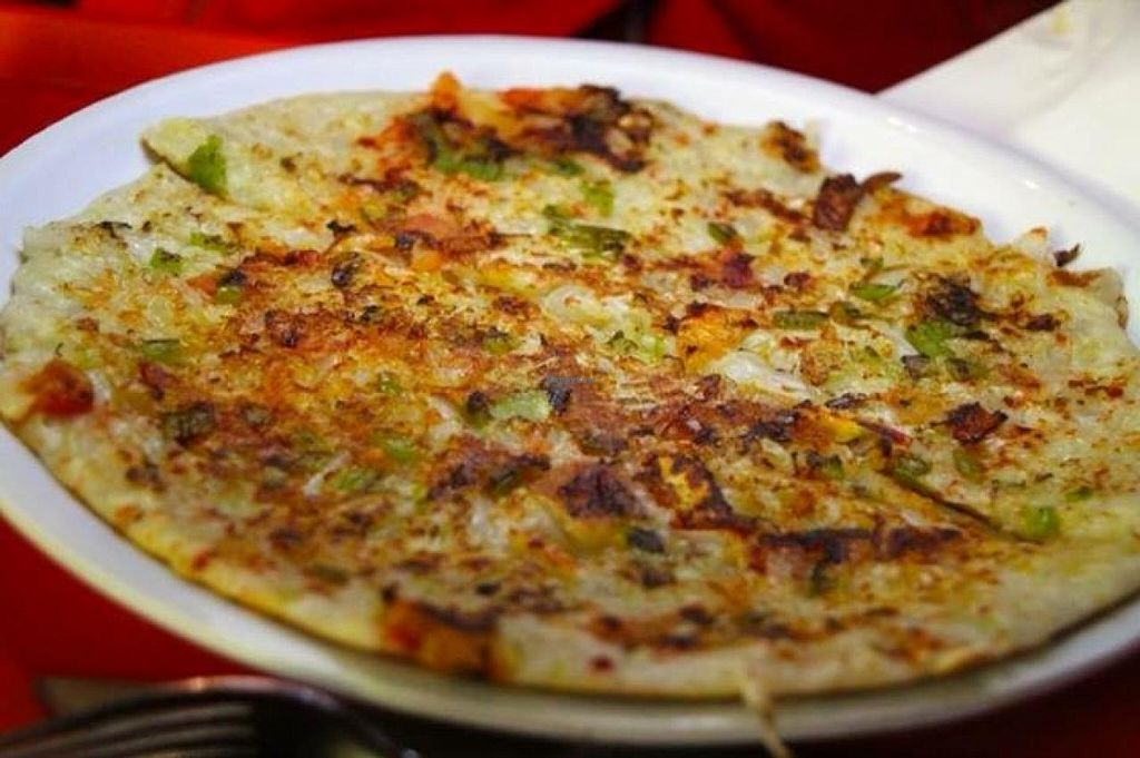 """Photo of Dosa Plaza - Metro Centre  by <a href=""""/members/profile/Lea"""">Lea</a> <br/>Rice pizza thingie <br/> January 7, 2014  - <a href='/contact/abuse/image/30881/61997'>Report</a>"""