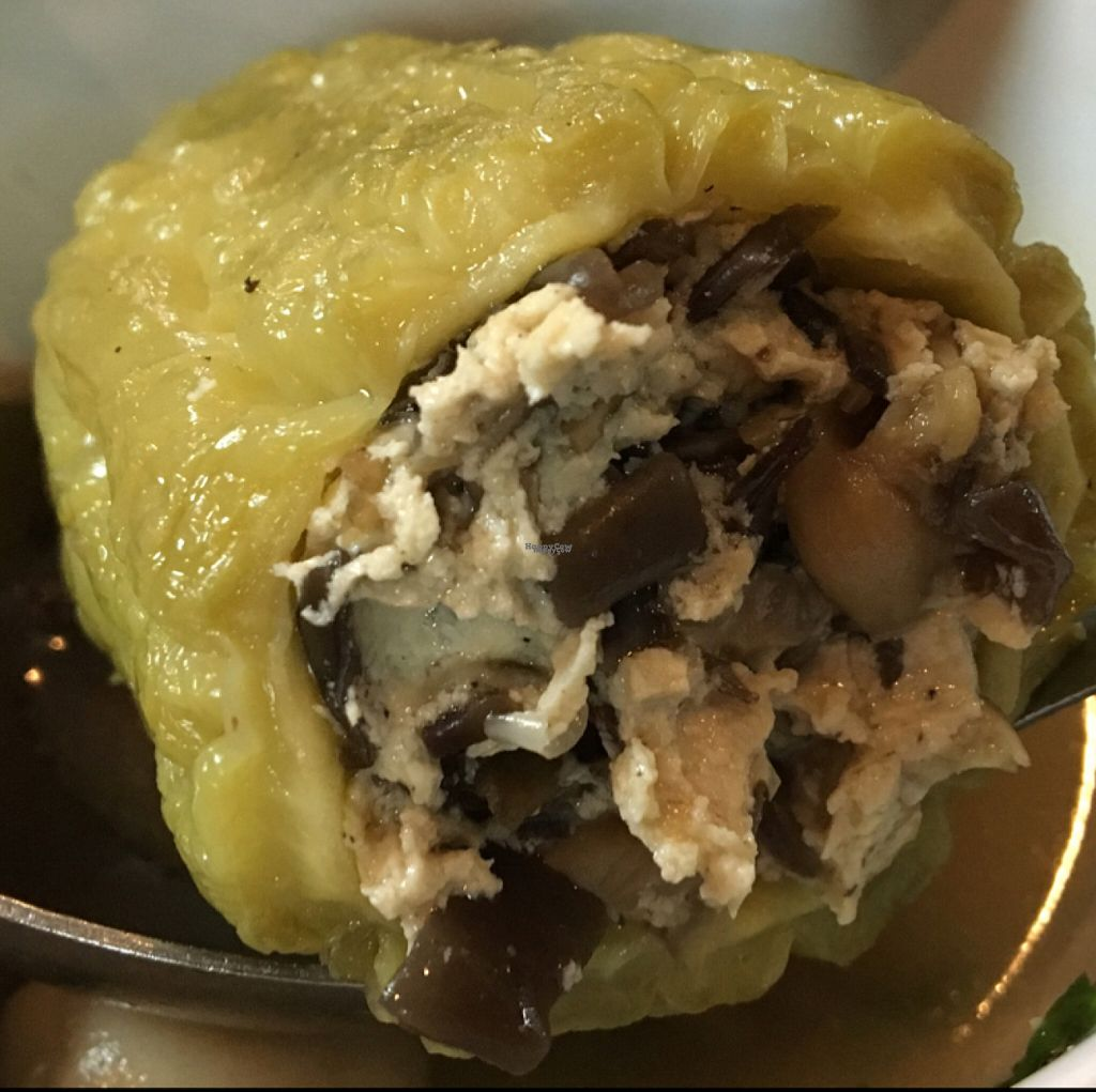 "Photo of Bo De   by <a href=""/members/profile/HollyCow"">HollyCow</a> <br/>stuffed bitter melon with mushroom and tofu <br/> August 11, 2016  - <a href='/contact/abuse/image/30889/167678'>Report</a>"